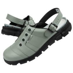 Klapki chodaki buty medyczne Abeba skóra [7365]