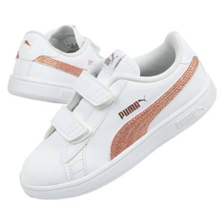 Buty sportowe dziecięce Puma Smash [375863 02]