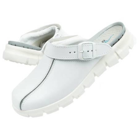 Klapki chodaki buty medyczne Abeba skóra [57310]